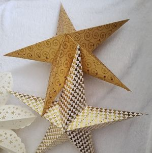 Other - Handmade Indian Paper Stars